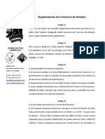 Regulamento do Concurso de Bandas da Queima das Fitas 2014