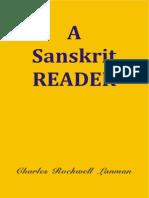 A Sanskrit Reader - Charles Rockwell Lanman