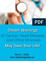 Dream Warnings of Cancer, Heart Disease, and Other Illnesses, May Save Your Life