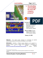 Earthquake Behavior Analysis