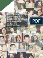 Como Prevenir La Violencia de Genero en La Educacion