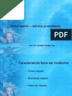 Inotul Sportiv-tehnica Procedeelor Curs V