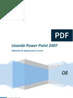 Usando Power Point 2007
