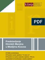 Predstavljanje Etničkih Manjina u Medijima Kosova