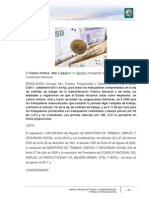ANEXO 10 Salario Mínimo Vital y Móvil _Enero 2012_