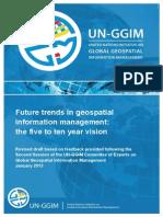 UN-GGIM Future Trends Paper - Version 2.0