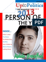 Wake Up to Politics the Magazine - 2013 Person of the Year Edition