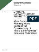 Critical Infraestruture Protection