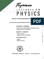 Feynman Richard Fizica Moderna Vol II Electromagnetismul Structura Materiei RO