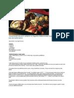 muschiulet de porc umplut cu legume r-âd-âcinoase coapte +«n cu