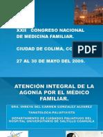 Atencion Integral de La Agonia Por El Medico