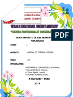 Trabajo de ITF