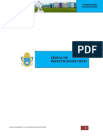 LINEAS DE INVESTIGACIÓN UDCH