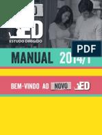 Novo Manual Do ED 2014.1