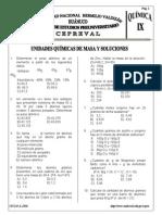 Cap09 Unidades Quimicas de Masa y Soluciones