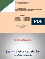 PRESENTACIÓN FINAL DEL PROYECTO DE AULAgdfzfgzdfdf