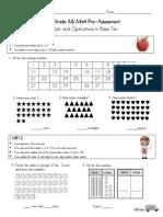 nbt assessment pre