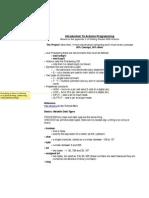 Arduino Syntax PDF