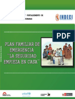 """Plan Familiar de Emergencia 2014 """"La seguridad empieza en casa"""""""