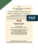 PROYECTO DE CAPACITACION DOCENTE. Evangelización de la Web 2.0