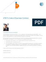 Att Code of Business Conduct