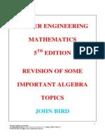 HEM5 Remedial Algebra