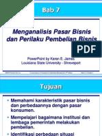175297121 Menganalisis Pasar Bisnis Dan Perilaku Pembelian Bisnis Kotler Bab 7