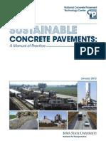 Sustainable Concrete Pavement