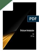 Brickcom Introduction 2011Q3