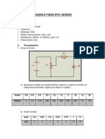 EXPERIMENTO Nº 2- circuitos electronicos I