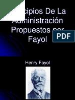 Principios de La Administracion de Fayol