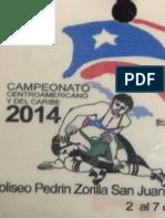 Resultados del Campeonato Centroamericano de Luchas Asociadas San Juan, Puerto Rico 2014 (Estilo Femenil) Final Book FW