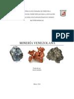 Gegografia Minerales CVG