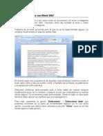 Scb.- Word 2007 -Ejercicio Completo