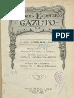 hispana esperantisto gazeto