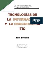 Tecnologías de la Información y la Comunicación -TIC-