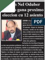 Nel Oduber - MEP Lo Gana Eleccion Cu 12 Asiento - Awemainta