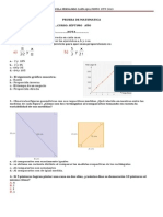 Prueba de Matematica 7