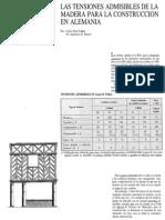 TENSIONES ADMISIBLES - coeficiente