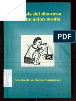 análisis del discurso en la educación