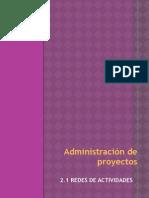 Redes de actividades (Ingenieria Industrial)