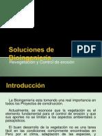 Control de erosión con Biomantas y Geomantas