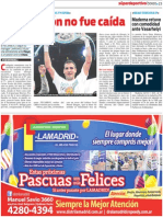 Programa Del Domingo en San Isidro