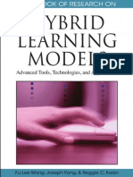 2010 F.L.wang Et Al - Handbook of Research on Hybrid Learning Models