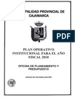 Plan Operativo Completo