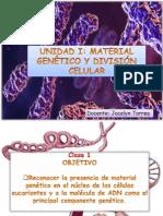 Unidad I_ Material genético y división celular
