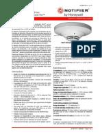 Detector de Humo Acclimate Plus Notifier FAPT-851