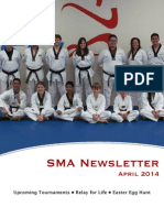 April '14 SMA Newsletter