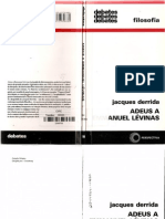 DERRIDA, J. Adeus a Emmanuel Lévinas.pdf