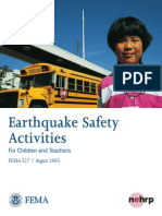 Earthquake Safety Rules at School